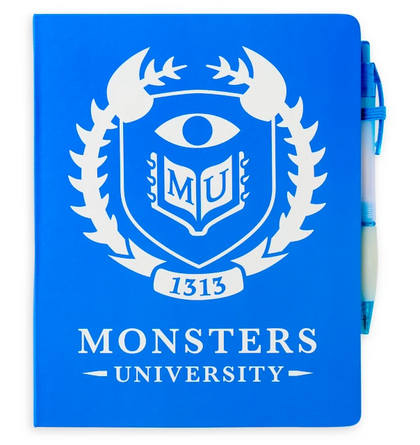 Monsters Inc Cuaderno y Pluma