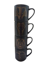 Harry Potter Set De Tazas Casas Hogwarts