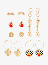 Cheetos Flaming Hot Set De Aretes