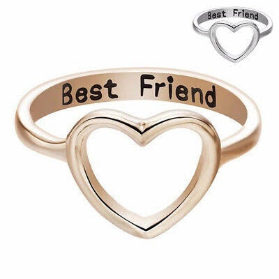 Anillos Bff Mejores Amigas Best Friends Anillo