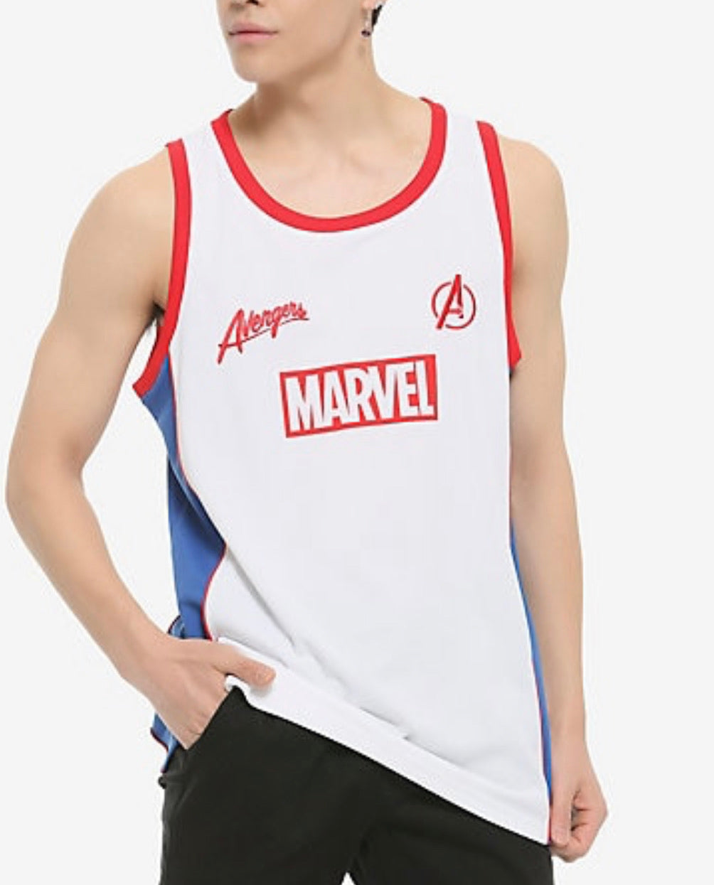 Marvel Basketball Jersey