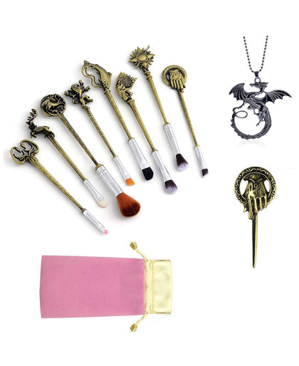 Games Of Thrones Set de Brochas Maquillaje