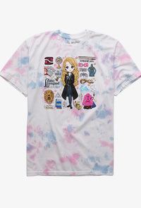 Harry Potter Camisa Luna Tie Dye
