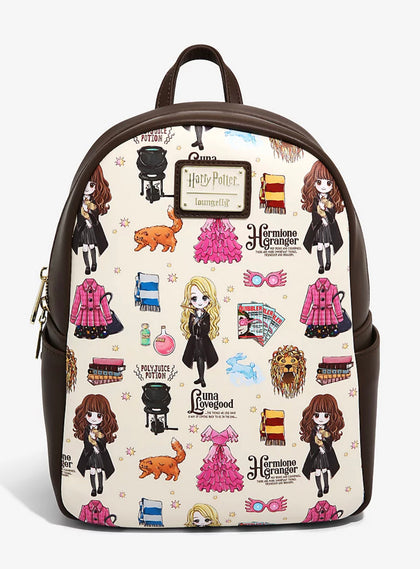 Harry Potter Mochila Luna Lovegood Y Hermione