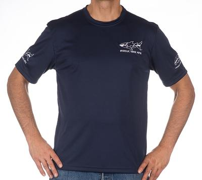 Brett Show Shirt Navy Blue