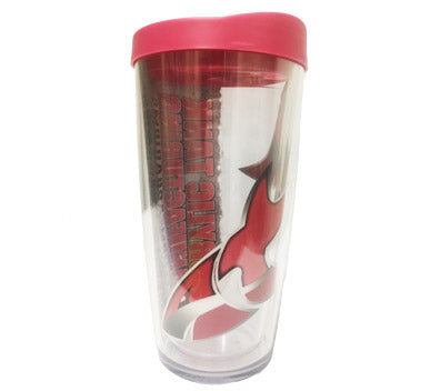 ATM 16 oz. Acrylic tumbler. BPA Free! 16 oz. double wall insulated cup with matching straw.