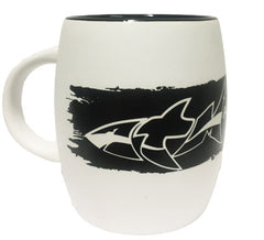 ATM 15oz Shark Barrel Mug