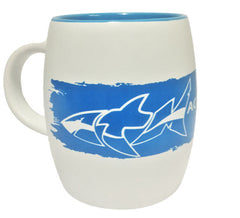 ATM Shark Barrel Mug