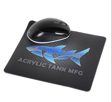 ATM Shark Logo Mouse Pad
