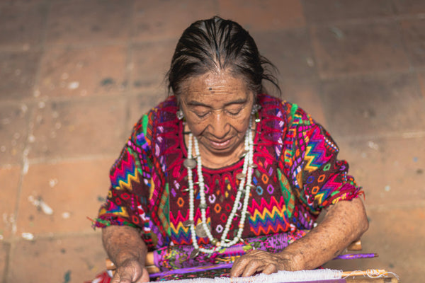Weaver woman Guatemala