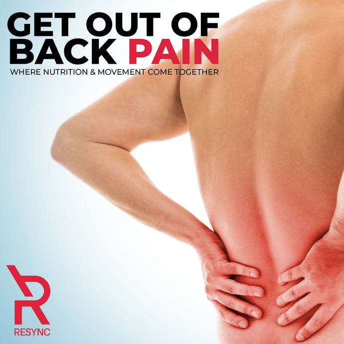 Get Out Of Back Pain - Where Nutrition & Movement Come Together
