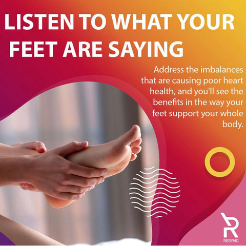 Listen to what your feet are saying.