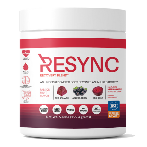 Resync recovery - nitric oxide blend