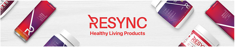 Resync Products Cardiovascular heart healthy sparkling beverage immune boost nitrate red spinach beetroot aronia beta glucan fiber