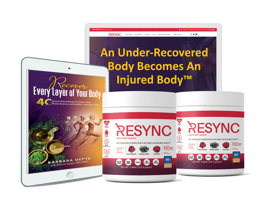Recovery & Sleep Bundle with Nutritional Guidance