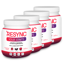 Load image into Gallery viewer, Resync Collagen Blend - 4 Tubs