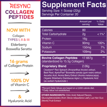 Load image into Gallery viewer, Resync Collagen Peptides (Wholesale)