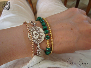 One-Hit-Wonder Armband-Kombi «Malachita»