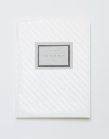 NOTEBOOK-06 「mirror mirror」 - PAPERSKY STORE  - 1