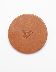 Papersky leather badge