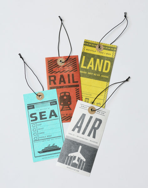ラゲッジ・タグ | Luggage Tags - PAPERSKY STORE  - 1