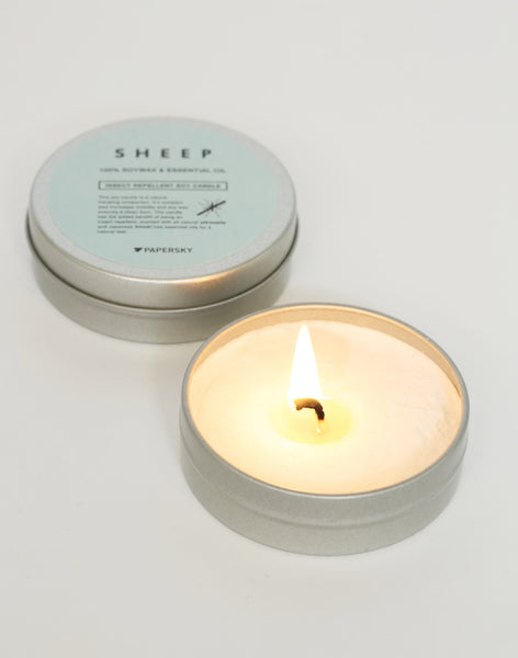 虫除けキャンドル |  Insect Repellent Soy Candle - PAPERSKY STORE  - 3