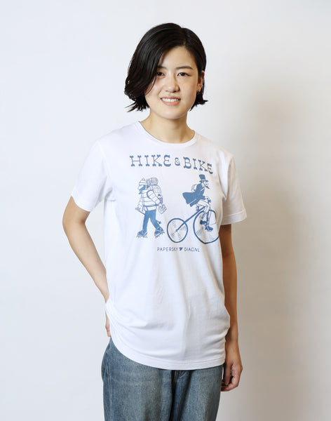 HIKE & BIKE T-Shirts - PAPERSKY STORE  - 1