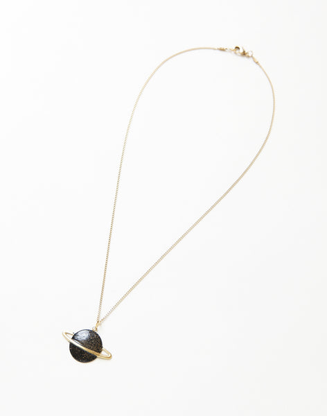 ネックレス | Saturn Necklace - PAPERSKY STORE  - 3