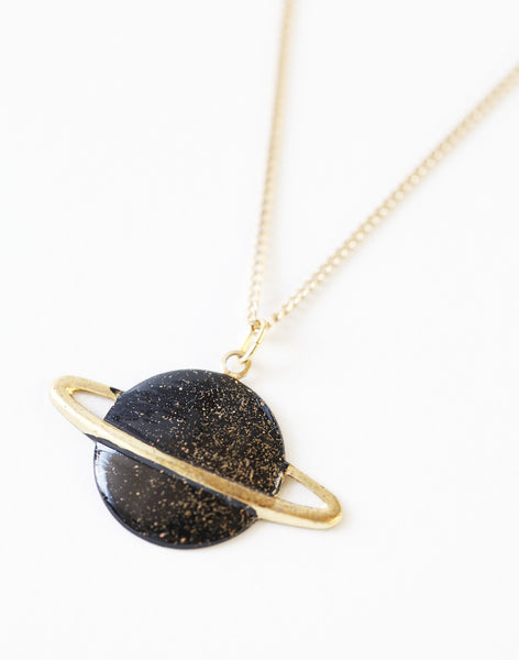 ネックレス | Saturn Necklace - PAPERSKY STORE  - 4