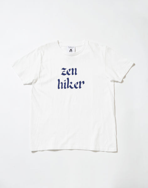 zen hiker papersky version in white and navy