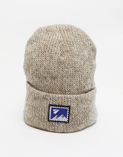 "ニットキャップ | Watch Cap ""World Post"" Ed. - PAPERSKY STORE  - 4"