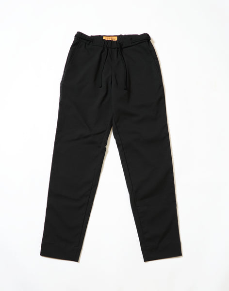 Around the World Pants,DEEPER'S WEAR,PAPERSKY,撥水加工.ブラック.black pants