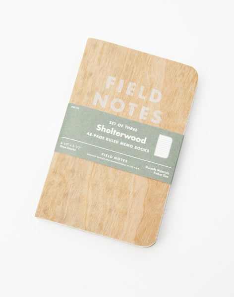"Field Notes | ""Shelterwood"" Edition - PAPERSKY STORE  - 2"