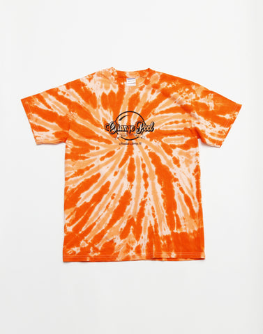 Tシャツ | Orange Peel Tie Dye T-shirt - PAPERSKY STORE