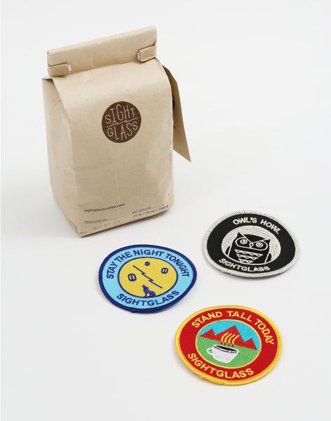 Sightglass 3-Badge Set - PAPERSKY STORE  - 2