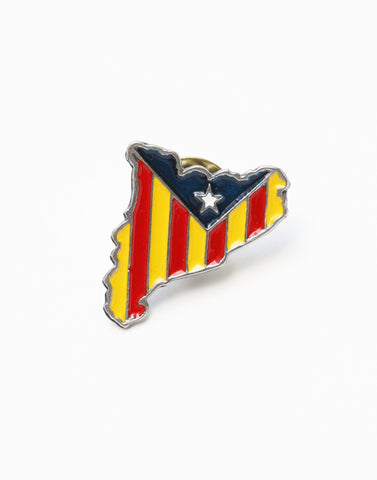 ピンバッヂ | Catalan Pin Badge - PAPERSKY STORE