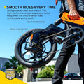 Swagtron EB-7 Elite Plus Electric Bike with 7-Speed Gear Shift