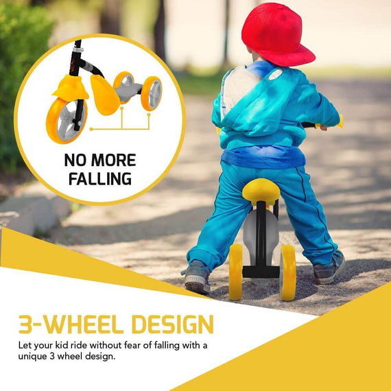 Swagtron K2 Toddler 2-in-1 Adjustable 3 Wheel Scooter