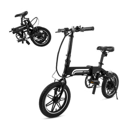 SWAGTRON SWAGCYCLE EB-5 Folding E-Bike, Next Generation Urban EBike