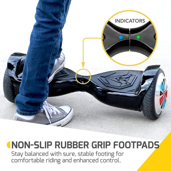 SWAGTRON T500 App-Enabled Bluetooth Hoverboard - UL2272 Safety Hoverboard with FREE Hoverboard Bag