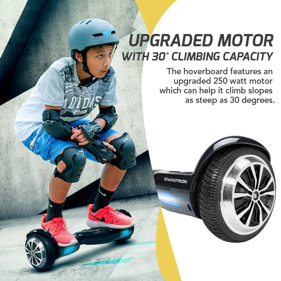Swagtron T1 PRO Hoverboard - UL 2272 Certified