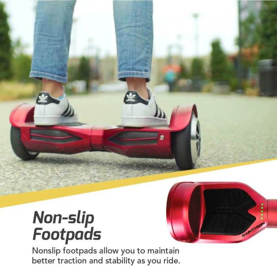 SWAGTRON T3 Hoverboard - Self Balancing Scooter with Bluetooth, Android/iOS App Support