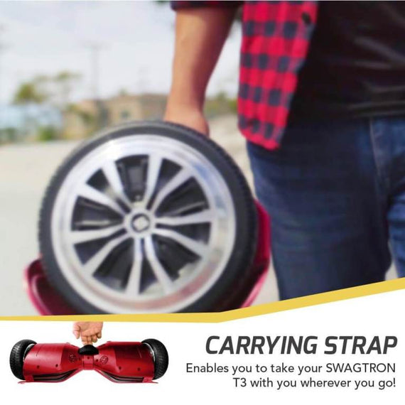 SWAGTRON T3 Hoverboard Bluetooth with Android/iOS App Support