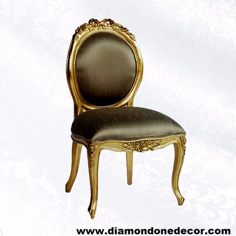 Louis Xv Regency Fabulous Baroque Accent Chair Diamond