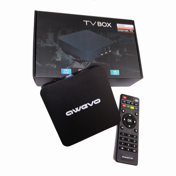 2019 Model - Awevo Android Box - Amlogic S905X Quad-Core