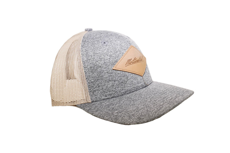 Motivated Patch Hat Grey