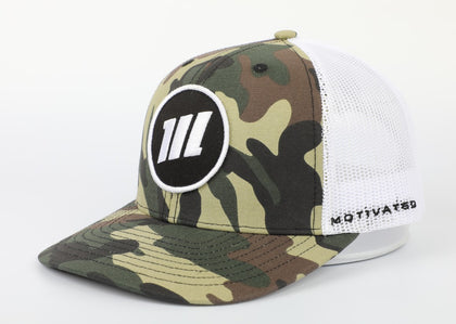 Camo Snackback Icon Hat