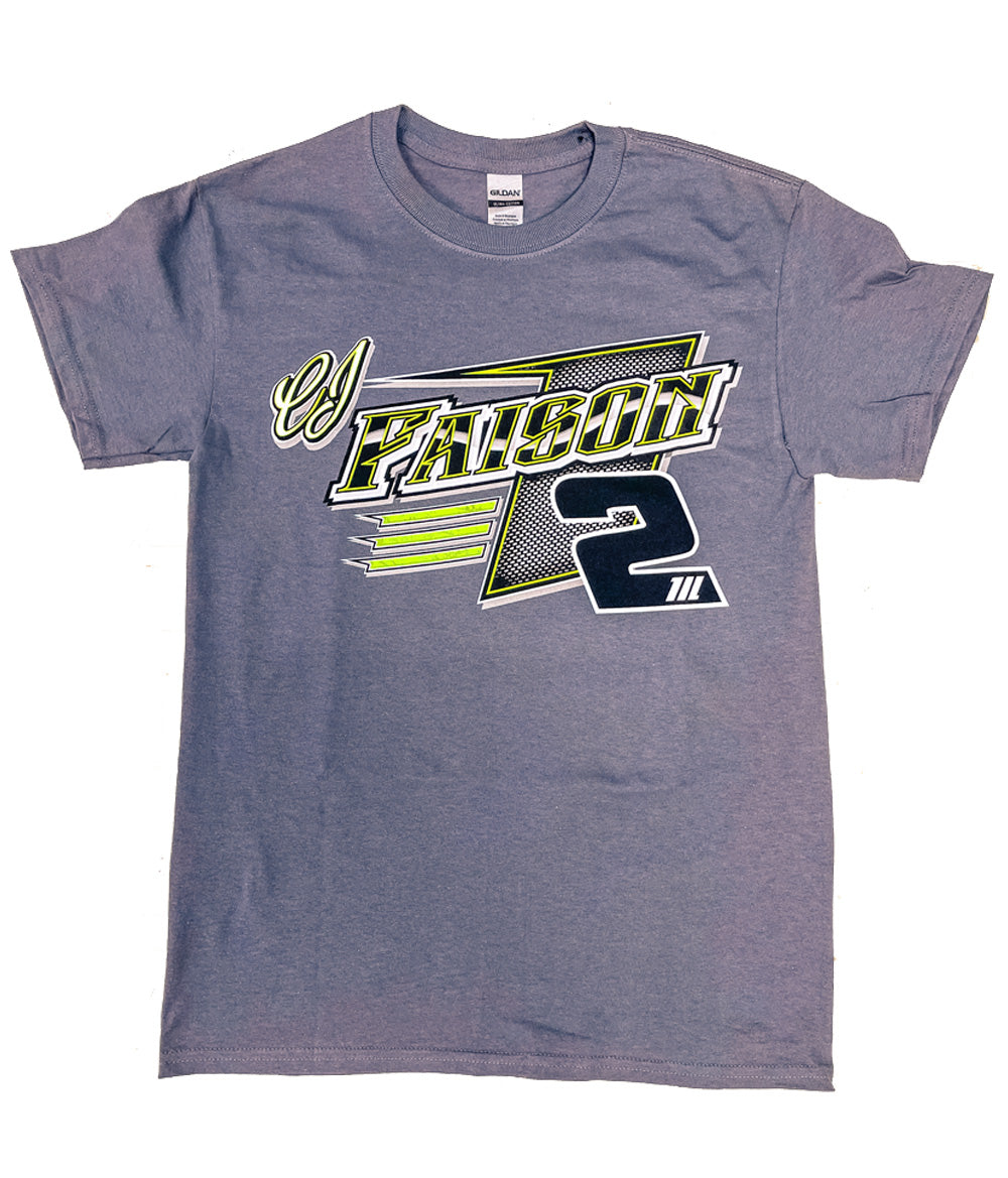 2021 CJ Faison Race Shirt- Grey