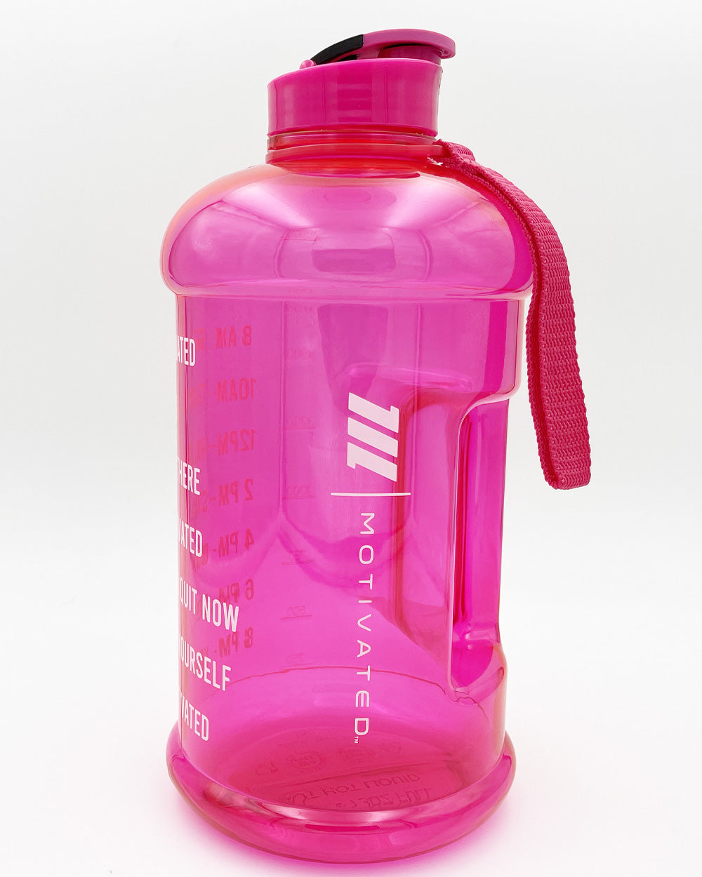 Pink Motivated Water Jug