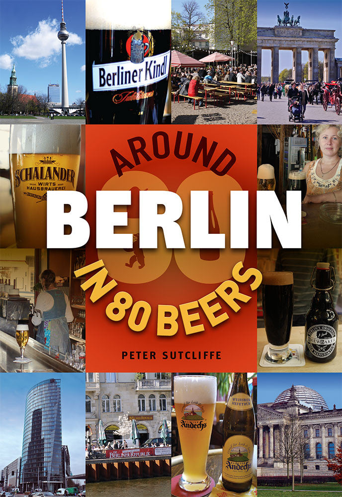 Around Berlin in 80 Beers - front cover